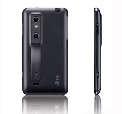 LG Optimus 3D Seitenansicht