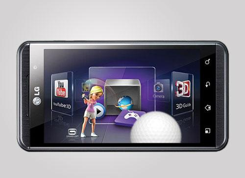 LG Optimus 3D Handy