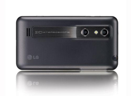 LG Optimus Rückansicht