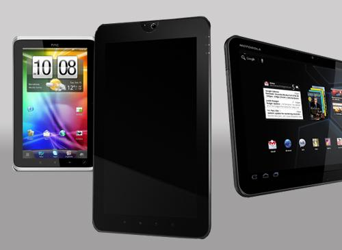 Toshibar HTC Motorola Tablets