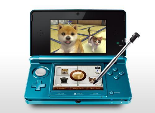 Nintendo 3D mit Tier Spiel