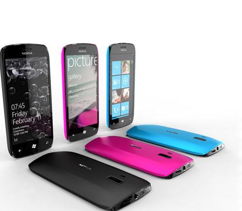 Nokia Windows Phone 7 Konzeptbild