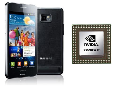 Samsung Galaxy S2 mit Tegra Chip