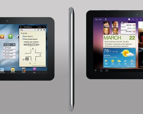 Samsung Galaxy Tab Dicke 10.1 und 8.9