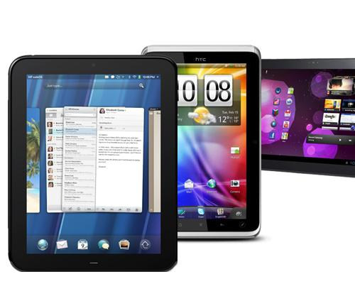 HP HTC Samsung Tablets