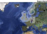 Kostenlose Online-Regenkarte als iPhone App