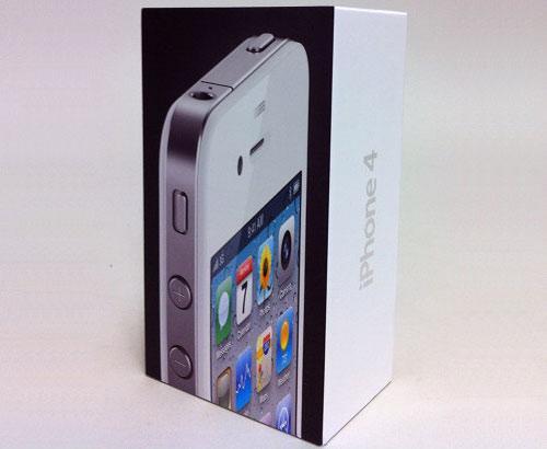 Apple iPhone 4 Verpackung