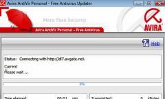 Avira Antivir Update funktioniert nicht