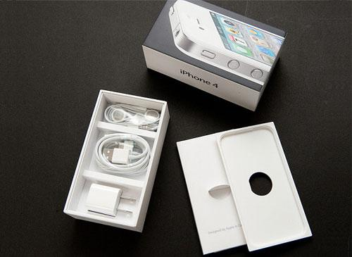 iPhone 4 offene Verpackung