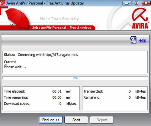 Avira Antivir Update