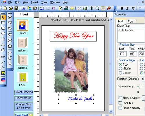Belltech Greeting Card Designer