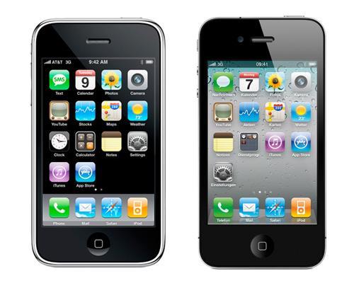iPhone 3G und 4G