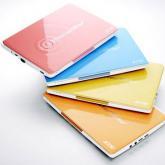 Bunte Netbooks: Mit Farbe gegen