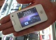 Weißes iPhone 4 Nano mit