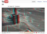 YouTube mit 3D-Videos per Nvidia