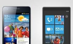 Android vs. Windows Phone 7: