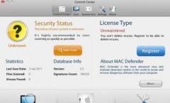 Falsches Antivirenprogramm für MAC PCs