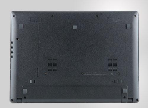 Acer Chromebook Unterseite