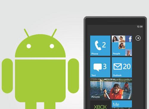 Android und Windows Phone 7
