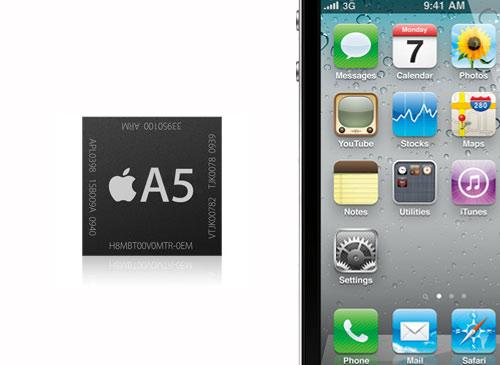 Apple a5 CPU