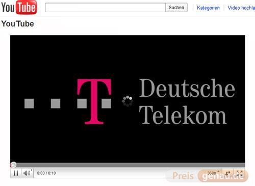 Deutsche Telekom und Youtube