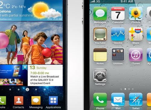 Galays s2 vs iPhone 4