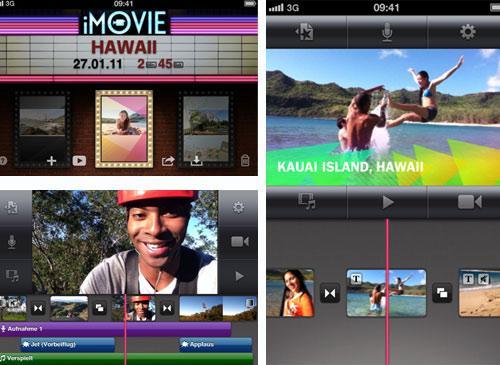 imovie iPad 2 App