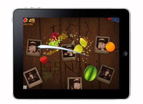 iPad 2 Spiel