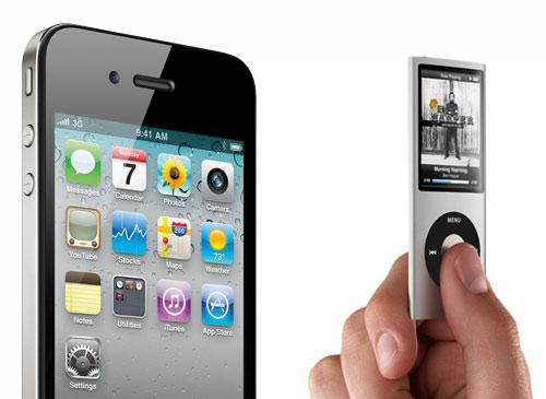 iPod nano und iPhone