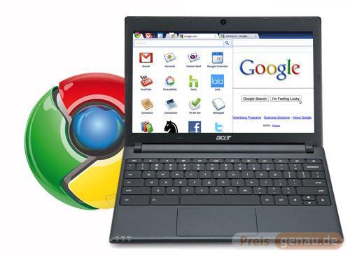 Laptops mit Chrome OS