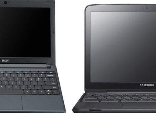 Samsung und Acer Chromebooks