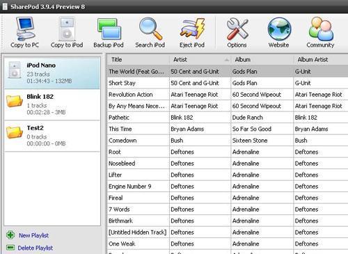 SharePod iTunes Alternative