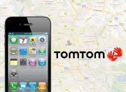 iPhone 5 mit TomTom Karten