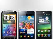 Vergleich: HTC Sensation vs. Samsung