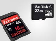 SD-Karten: Die besten SDHC, Micro