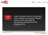 Gema vs. YouTube: Musikvideos in