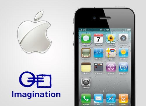Apple und Imagination