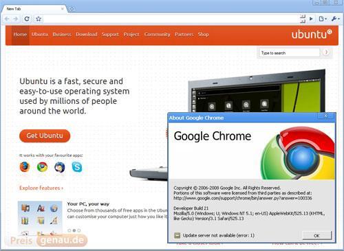 Chrome und Ubuntu