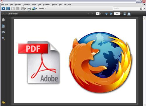 Mozilla Firefox und PDF