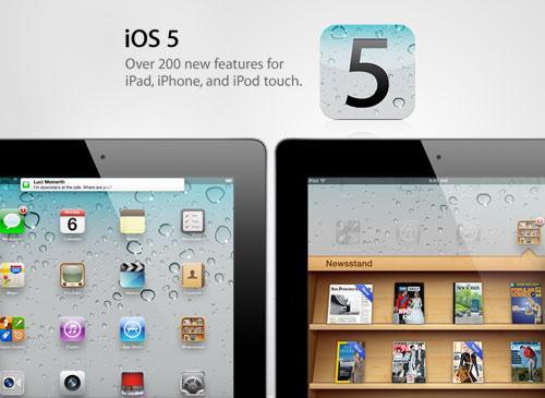 IOS 5 iPad 3