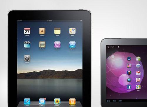 iPad 2 vs Galaxy Tab