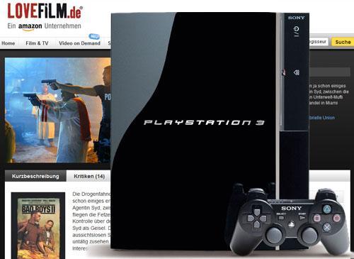 Lovefilm.de und die Playstation 3