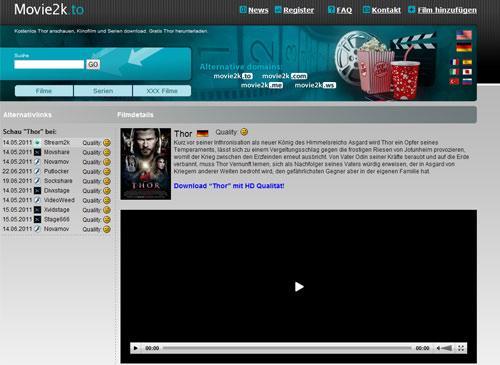 Movie2k.to bestreitet sämtliche Kooperation mit kino.to