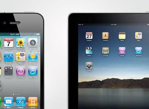 Verschmierte Touchscreens