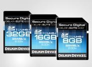 Schnelle SDXC-Speicherkarte mit 95 MB
