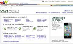 Sofort-Verkauf: iPhone 4 bei eBay