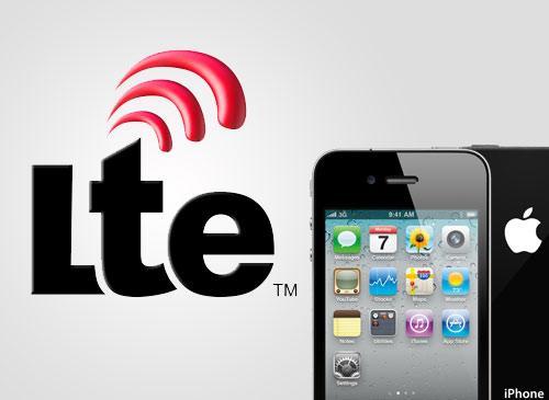 Apple iPhone und LTE