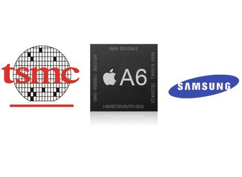 Apples A6 Chip Produzent