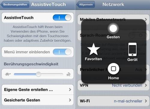 iOS 5 Assistes Touch
