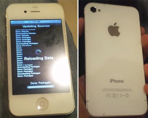iPhone 4 plastik